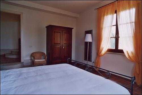camera matrimoniale appartamento Quercia